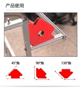 Image 5 - 2 pcs רב זווית ריתוך מגנט Neodymium מגנטי מהדק חשמלי ריתוך ברזל יניקה מחזיק כלים S 12 kg
