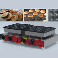 CH 543 Commercial Non stick 110 v 220 v Electric Dutch Mini Pancakes Poffertjes Dorayaki Iron Maker Machine