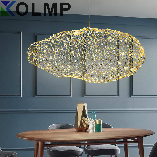 Modern Creative Cloud Light Fixtures Led Pendant Lamp Starry