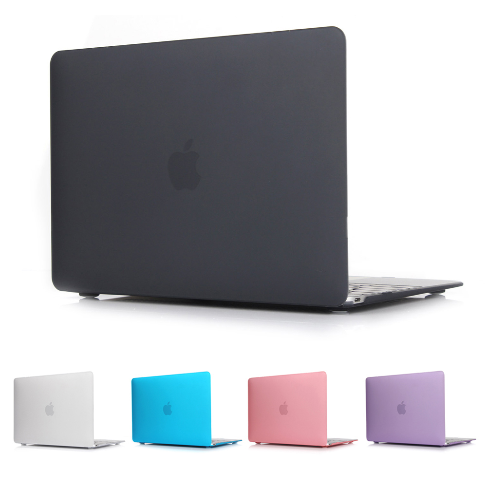все цены на  New Hard Crystal Matte Frosted Case Cover Sleeve for MacBook Air 11 A1465/ air 13 inch  A1466 pro 13.3 15 A1278 retina 13 A1502  онлайн
