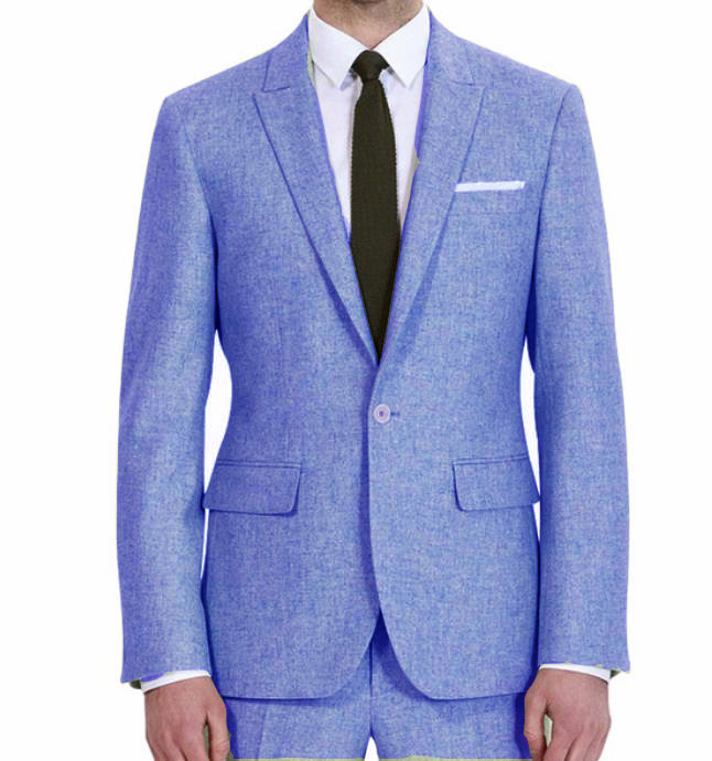 Latest Coat Pant Designs Custom Groom Tuxedo Colorful Men Suits 2 Pieces Terno Jacket+Pants