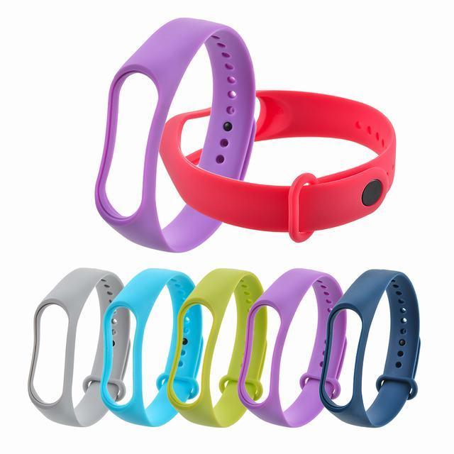 FUNIQUE Silicone Wrist Strap For Xiaomi Mi Band 3 Bracelet For Xiaomi Mi Band 3