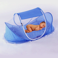 New Design Infant Toddler Child Baby Mosquito Bed Net Yurt Folding Easy Carrying Crib Netting 0