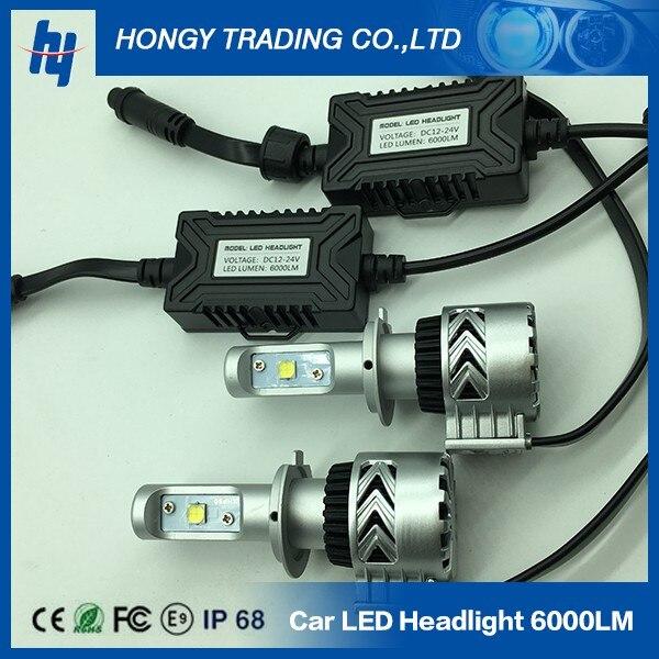 2PCS Lot H7 Canbus Led 30w 60w G8 8G 6000LM 12000LM Led Headlight Lamp 9005 9006