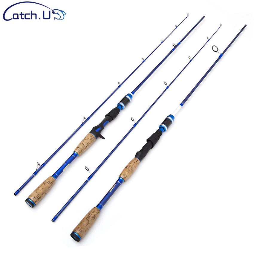 Catch.U Carbon Casting Spinning Fishing Rods Sea Fishing Rod Spinning Fishing Rod 2 Section стоимость