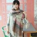 2015 новинка, женский зимний шарф, женские шёлковые шарфы, шали, дизайнерские женские палантины