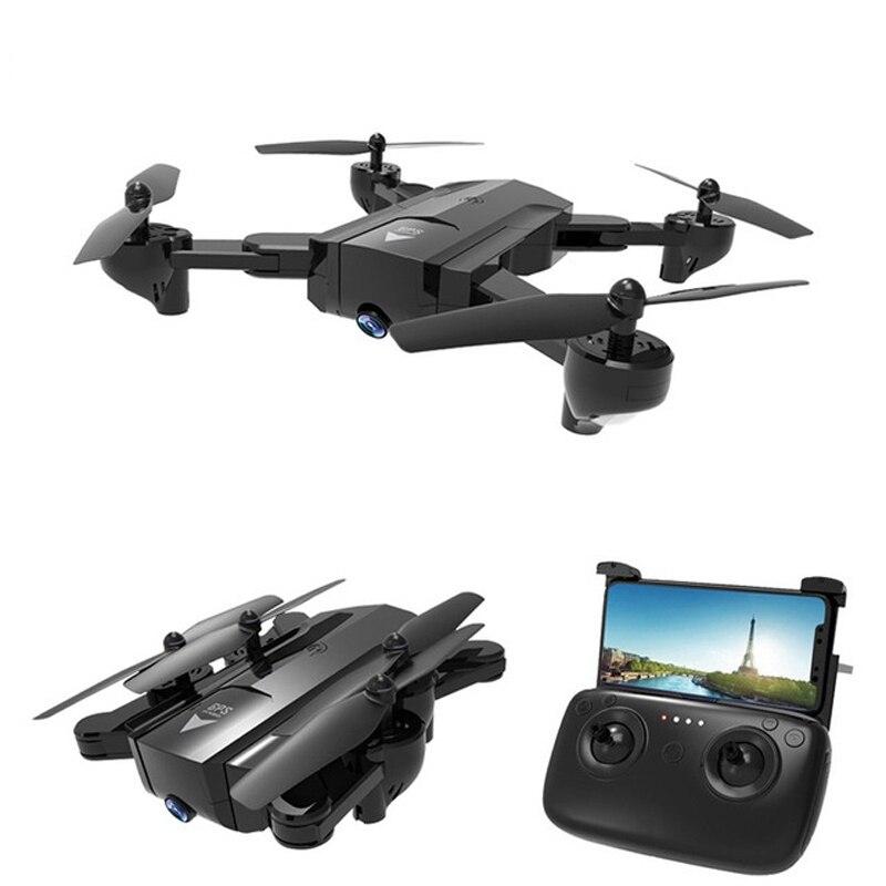 El más P nuevo GPS RC Quadcopter con 1080 p/720 p HD Cámara RC helicóptero Sígueme modo GPS Punto Fijo WIFI FPV Drones VS XS812 H501S