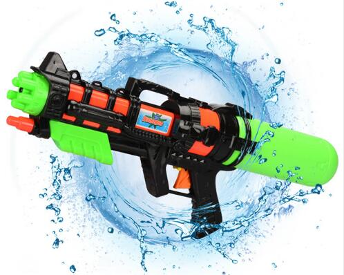 Summer Kids Beach Swimming 44CM Water Gun Toy Manual Pressure Spray Toy Outdoor Beach Water Funny Toys
