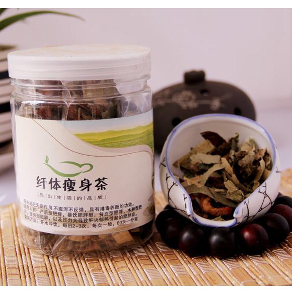 Producto adelgazante tradicional herbolario en formulación grupo té de hierbas