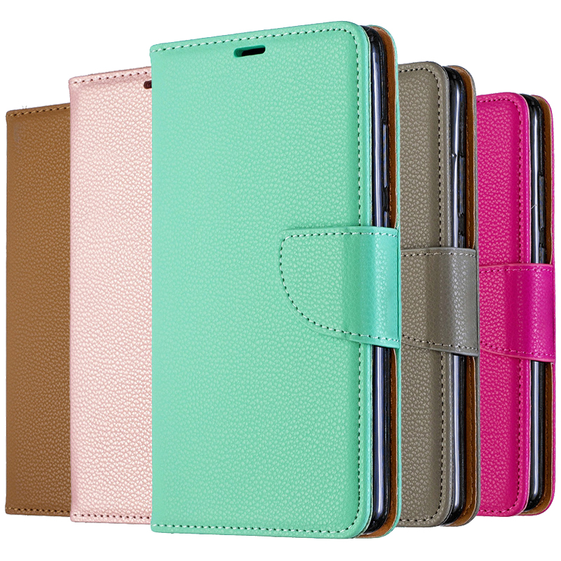 Solid Color Leather Flip Case For <font><b>Nokia</b></font> 2.3 6.2 7.2 2.2 <font><b>3.2</b></font> 1 Plus 4.2 <font><b>2019</b></font> Wallet Cover Case For <font><b>Nokia</b></font> 2.1 3.1 5.1 2018 Coque image