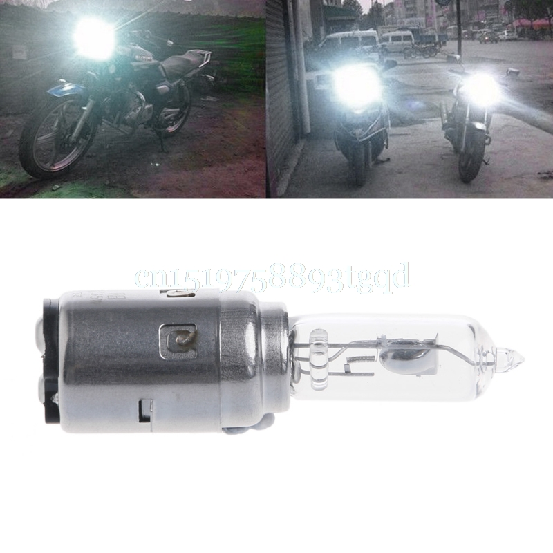 motorcycle-dc-12v-35w-ba20d-transparent-silver-headlight-halogen-bulb-xenon-white-light
