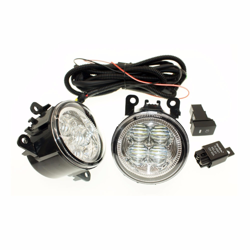 medium resolution of for nissan sentra 2007 2012 h11 wiring harness sockets wire connector switch 2 fog lights drl front bumper 5d lens led lamp