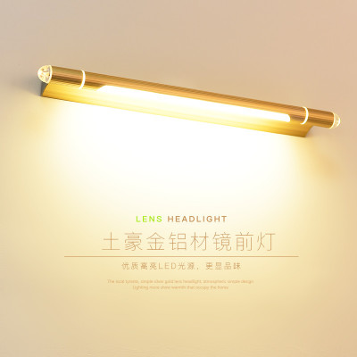 sconce wall lamp bathroom light lamp 7W 11W SMD5050 White LED Bathroom anti fog waterproof Stainless Steel Mirror Front Lights led mirror light wall front lamps bathroom light 1w 3w 5w 7w 9w 15w samsung chip smd 5050 ac85 265v bulb white warm white uw