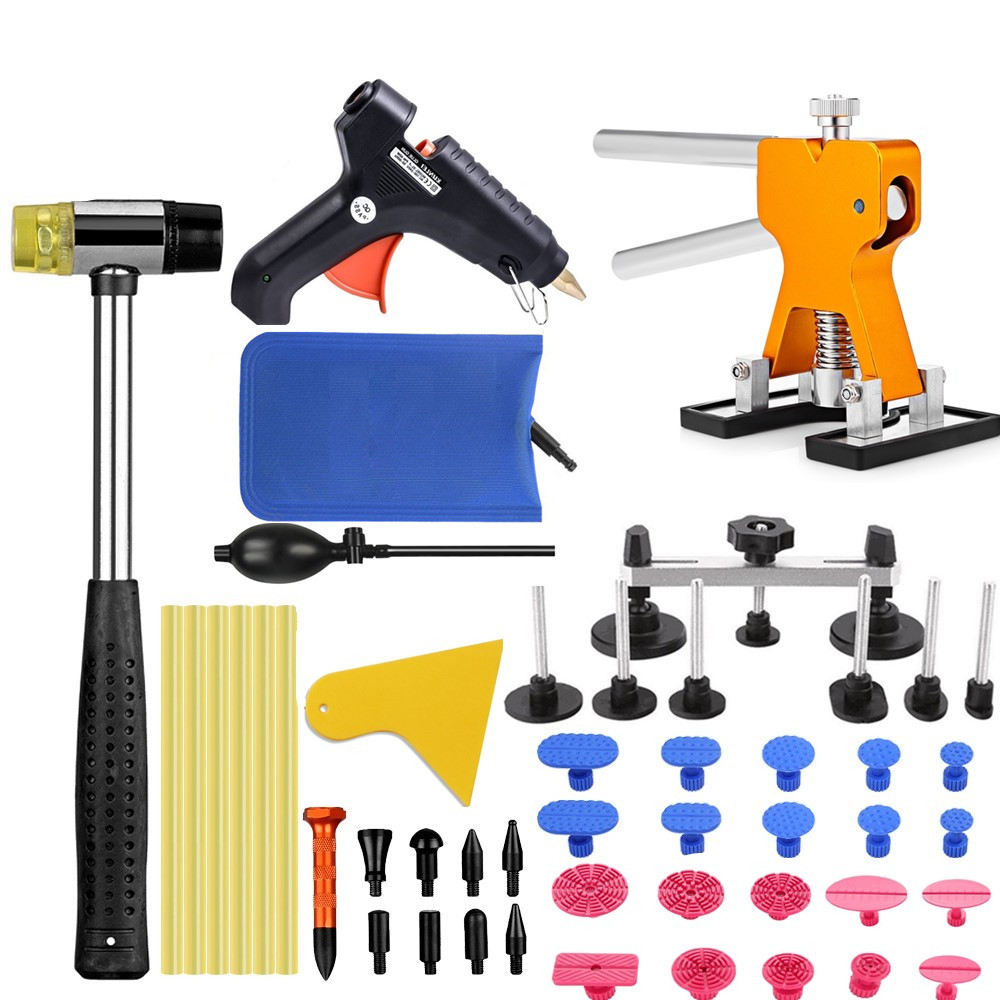 PDR Tools Car dent removal Tools kit paintless dent repair Tool set dent puller Hot Melt