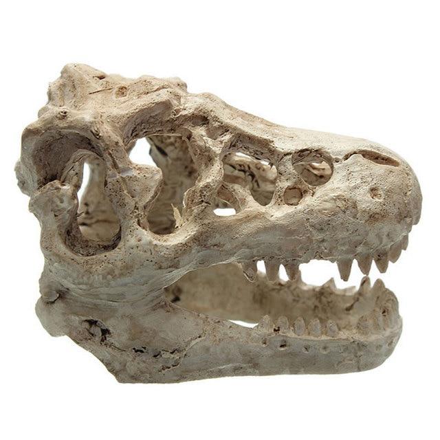 home decor resin dinosaur skull free size 80g fish & aquatic pets