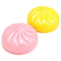 New Brand 1PCS 15CM Squishy Jumbo Buns Ballchains Super  Slow Rising bread scented Chinese white bread