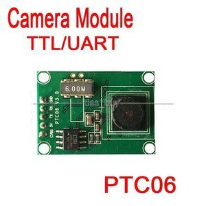 Image 2 - PTC06 סידורי JPEG מצלמה מודול CMOS 1/4 אינץ TTL/UART ממשק עבור AVR STM32 וידאו בקרת תמונה