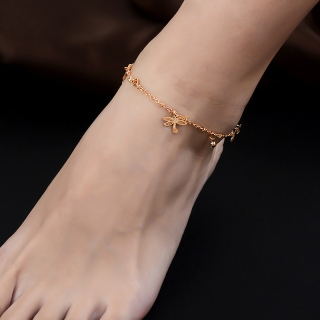 Trendy Dragonfly Anklet Bracelet For Women