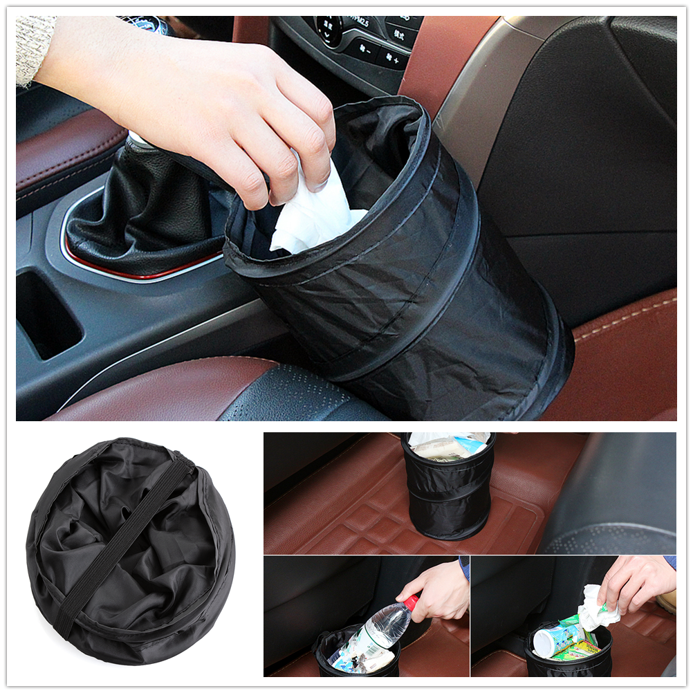 Car Waterproof Trash Can Bag Leak Proof Garbage Pocket FOR Lexus IS350 IS250 IS200 IS300 RX350 <font><b>RX250</b></font> RX330 GS300 GS350 GS400 image