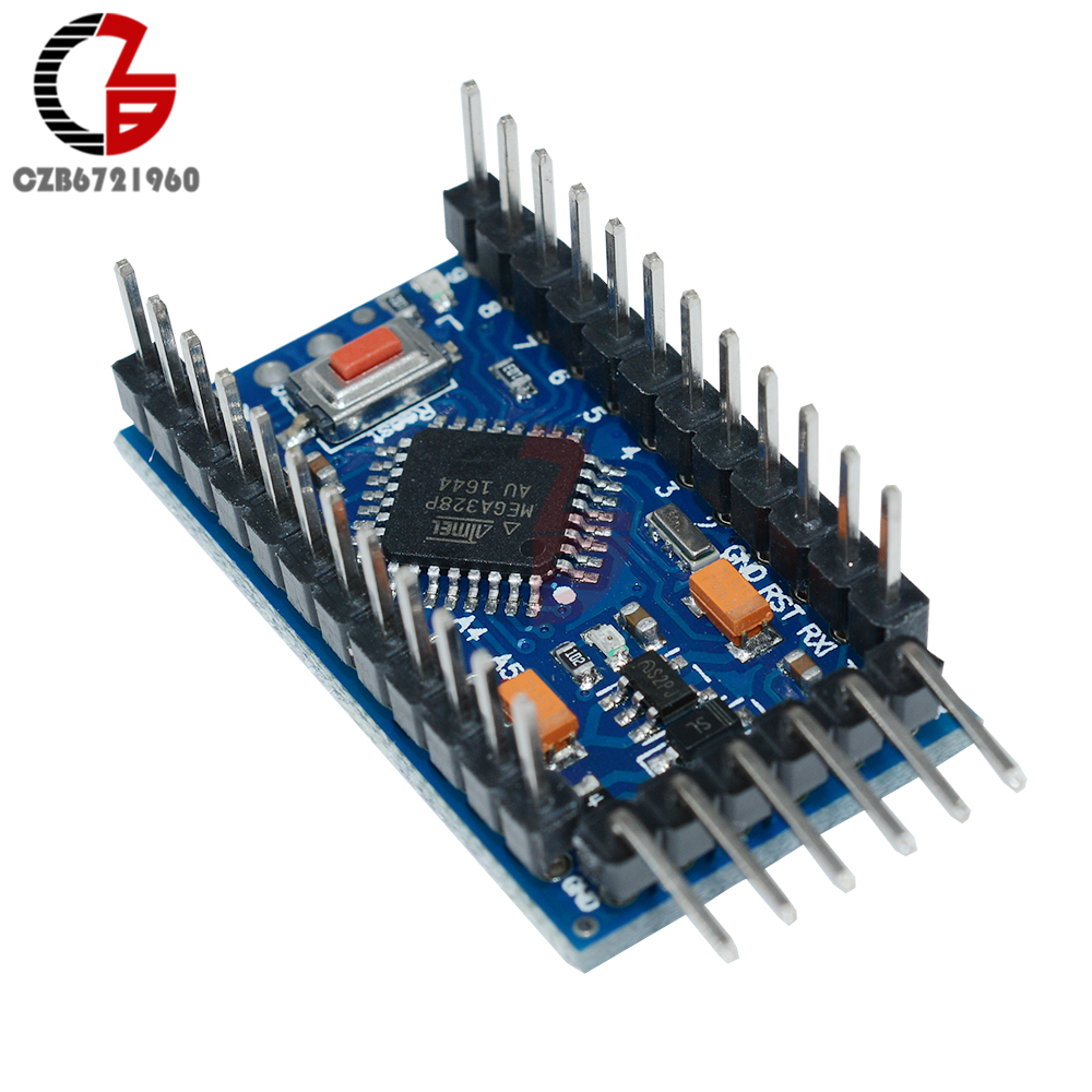 2PCS Nouveau Pro Mini atmega 328 3.3 V 8 M Remplacer ATmega 128 Arduino Compatible Nano