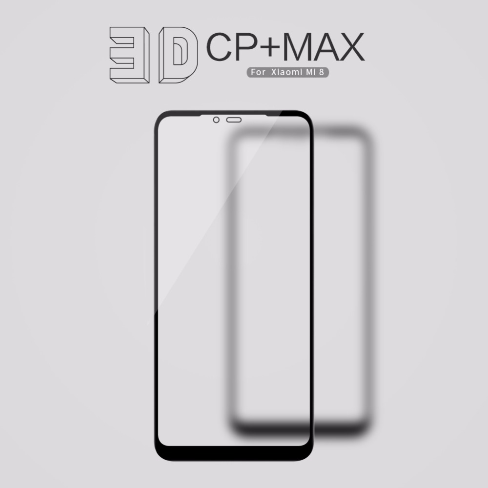 xiaomi mi 8 mi8 Glass Film xiaomi mi 8 SE 8SE Screen Protector For xiaomi 8 8se NILLKIN 3D CP+MAX Tempered Glass Protective film
