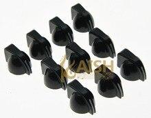 Pack of 50 Black Guitar Chicken Head Knob Guitar Mini AMP Effect Pedal Knobs