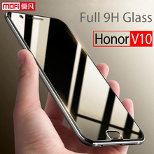 Huawei Honor V10 Glass Tempered Screen Protector Mofi Ultra Clear Thin 9H Full Cover