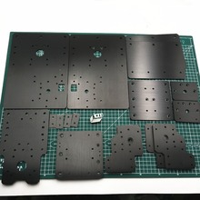 WorkBee CNC Комплект алюминиевых пластин, набор свинцовых винтов и ленточная версия для WorkBee CNC фрезерный станок, CNC гравировальный станок