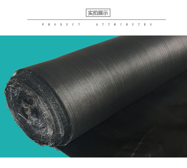 b29a5f68295c 160g Black glass fiber cloth