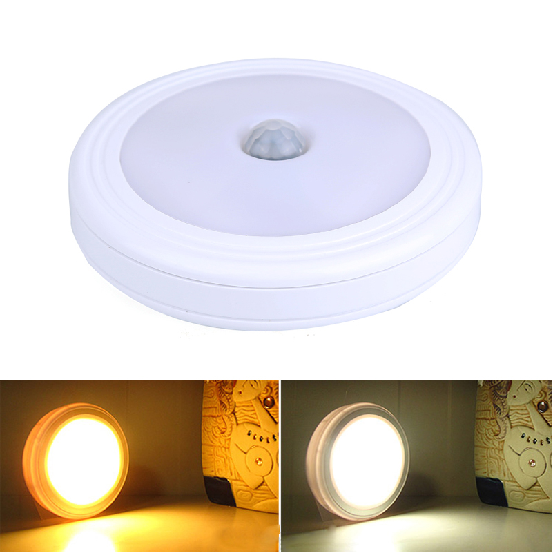 Wireless Motion Sensor Pir Night Light Led Wall Lights