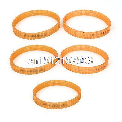 5 Pcs 10mm Width Electric Planer Part Drive Belt Band Apricot for Hitachi F20A sme пассик drive belt