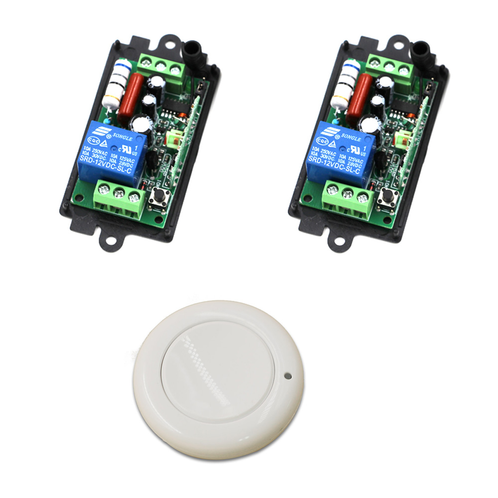 220 Volts Wireless Remote Light Switch Remote Control RF Switch 1CH Wireless Relay Switch Teleswitch