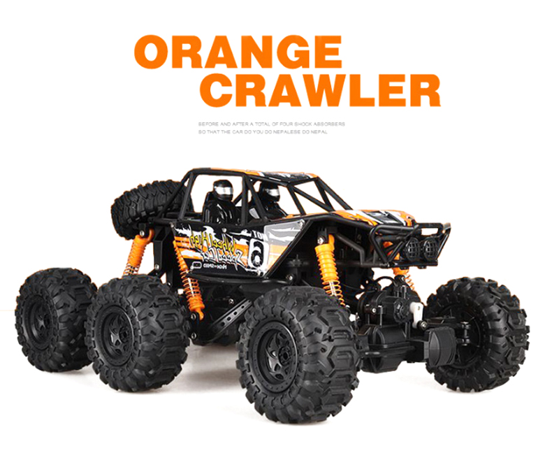 RC Car 1/8 6WD 2.4Ghz Remote Control High Speed Vehicle Electric RC Toys amphibious amphibious car Toys Kids Suprise Gifts