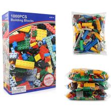 1000 Piece DIY Building Blocks City Creative Bricks Model Bulk Friends Sets Educational Toys for Children все цены