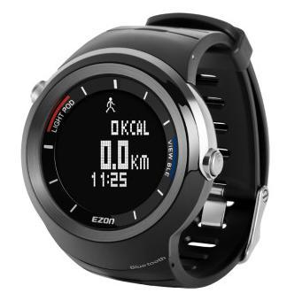 ezon watch S2A01 S2A02 Professional with pedometer function waterproof  sports smart digital wristwatch,to IOS SYSTEM men s multi function waterproof smart sports running watch s2 with pedometer pair with android 4 3 ios6 0 or higher bluetooth