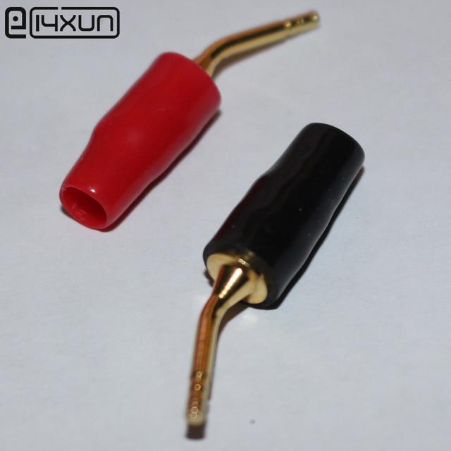 10 pairs rot schwarz 2mm bananenstecker lautsprecher Klemmen plug ...