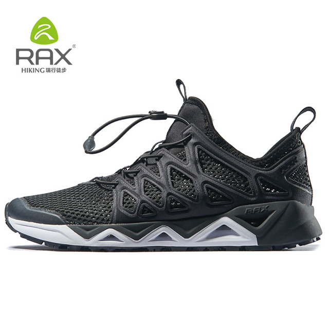 a70076a39d RAX Men Trekking Shoes Men Aqua Shoes Breathable Sports Sneakers Men  Trekking Quick drying Water Shoes Outdoor Mens Hiking Shoes-in Upstream  Shoes from ...