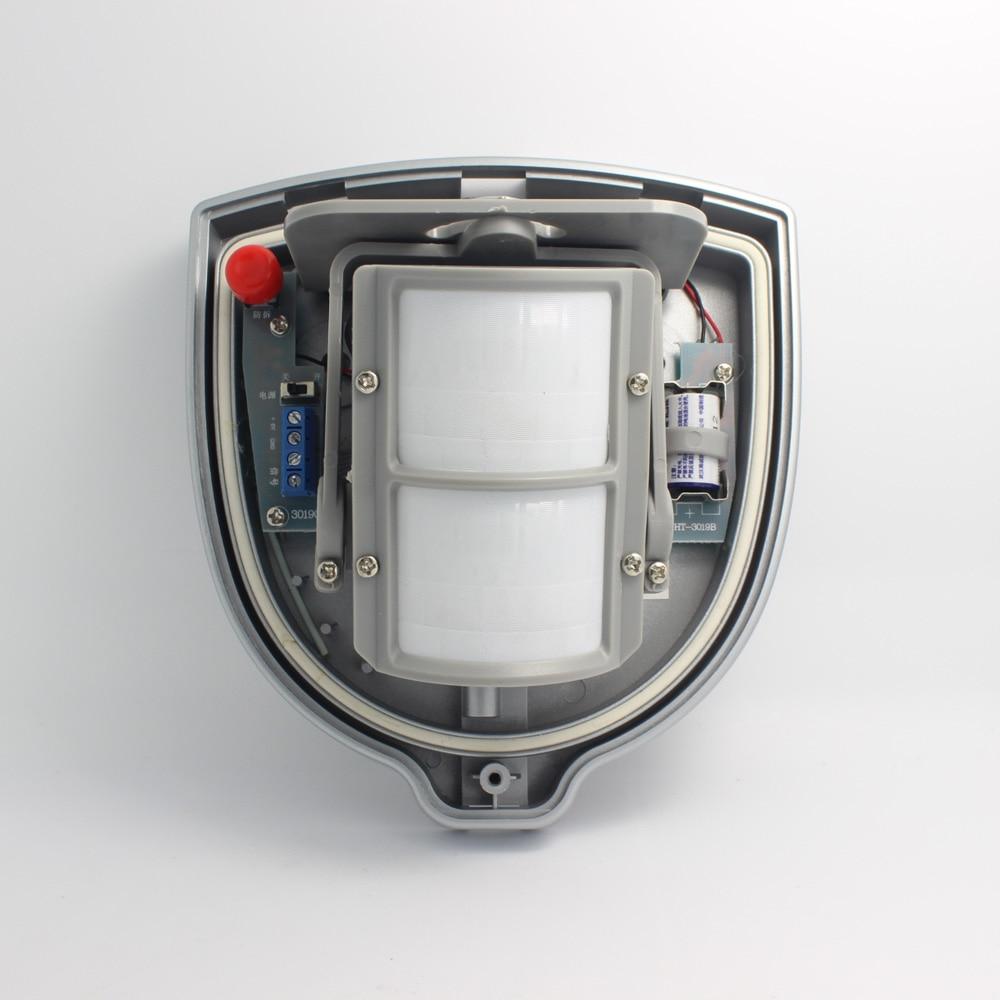 цена на 1 PCS Wired Outdoor Dual PIR Sensor with Waterproof and Microwave module inside Waterproof Wireless 433MHz Pet immunity
