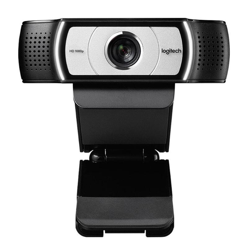 Logitech c930e 1080p hd webcam multi-plataforma conferência software câmera com privacidade obturador 90 graus vista web cam