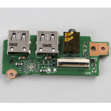 Genuine USB Board Audio Board for R505C K56C K56CA K56CM S56C A56C USB Audio Board I/O Jack Board with Cable mit Kabel