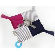 2016 בייבי אחיזה קטיפה בובה לדחוף Appease תינוקות תינוקות טוחנת צעצועים לילדים ילדים מגבות רך רך צעצוע