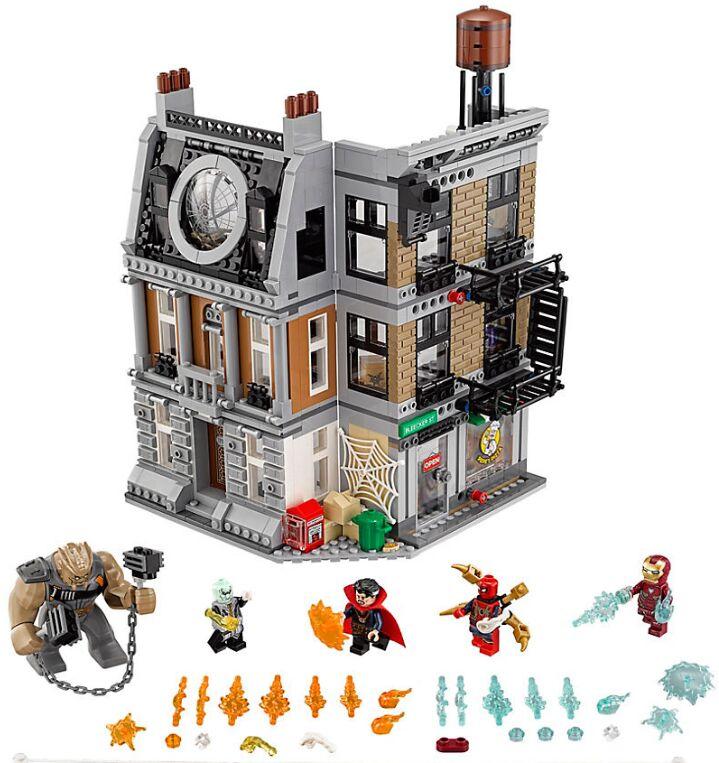 Marvel Super Heroes Avengers Infinity War Sanctum Sanctorum Showdown Compatible 76108 Building Blocks Legoings Toys For Chidren sanctum