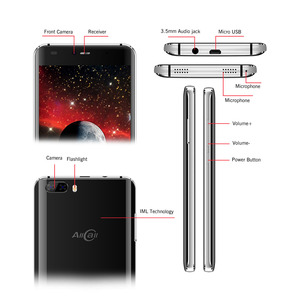 Image 3 - מקורי Allcall ריו 5.0 אינץ IPS אחורי מצלמות אנדרואיד 7.0 Smartphone MTK6580A Quad Core 1GB RAM 16GB ROM 8.0MP OTG 3G נייד טלפון
