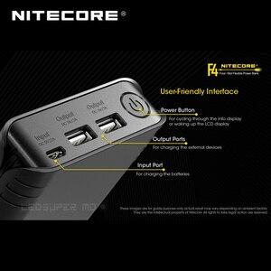 Image 5 - Gold Gewinner 2019 ISPO SOFTWARE Award NITECORE F4 2 in 1 Vier slot Flexible Power Bank & Batterie Ladegerät mit LCD Display