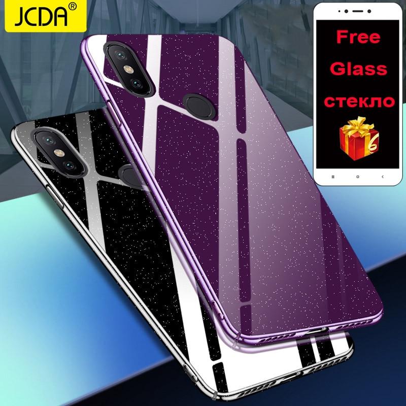 Xiaomi Mi 8 SE case Cover Redmi 5 plus Case JCDA Crystal Back mi a1 a2 Cover redmi note 5a prime 4 4X 5S MIX 2S S2 6A 6 6x case