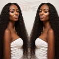 Peruvian Real Human Hair Loose Curl LaceFront Wigs Rosa Hair Products Unprocessed Indian Virgin Hair Wigs With Natural Hairline