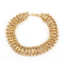 Or bracelet Or Plaquent Bracelet De Cuivre Bracelet Bracelets et Bracelets Femmes Accessoires Bijoux Bijuteria Feminina