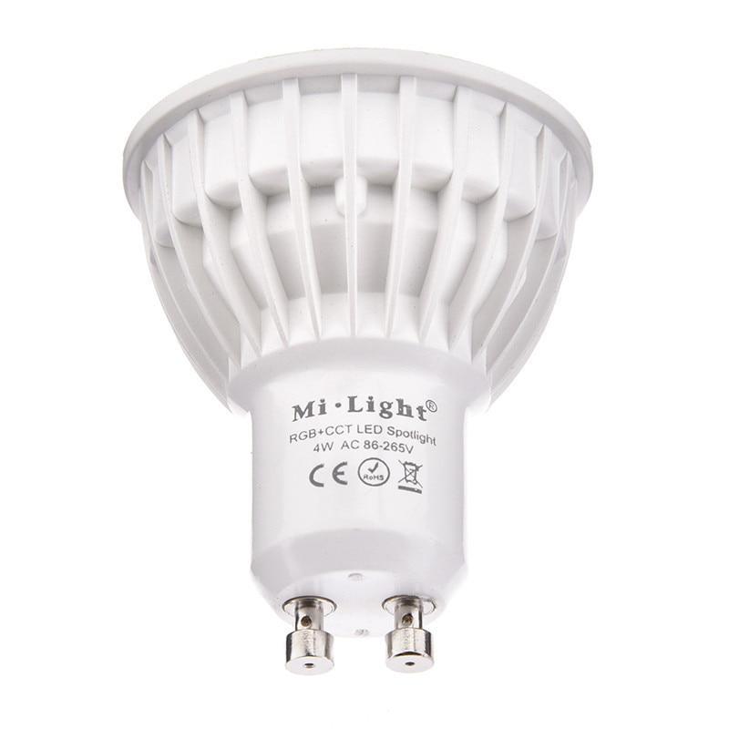 Hard-Working 2.4g Rgbw Rgbww Gu10 Ac85-265v Dimmable Led Spot Light Bulb Lamp 2.4g Wireless Group Dimmer Remote Mi Light Wifi Controller