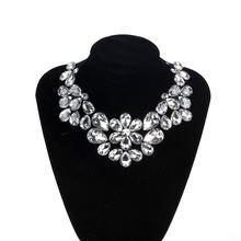 Zmzy 2021 Новое богемное эффектное ожерелье со стеклянными кристаллами
