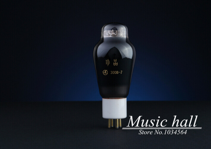 Douk Audio NEW Shuguang 50 years Treasure Series 300B-Z Audio Vacuum Tube HIFI Valves 1PCS for tube amplifier Free Shipping new shuguang 211 hifi electron tube 4pins tube 1piece free shipping